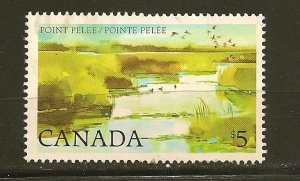 Canada 937 Point Pelee $5.00 Issue Used