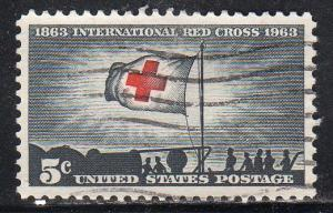 United States 1239 - Used - Red Cross (3)