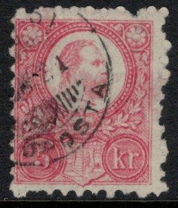 Hungary #3  CV $25.00