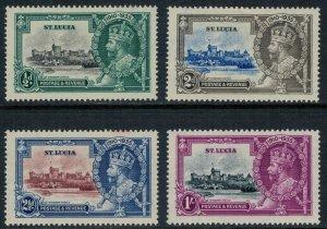 St. Lucia #91-4*  CV $16.00