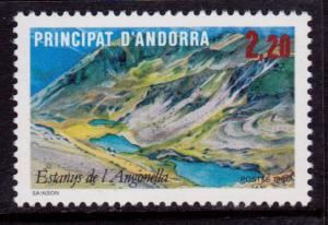 French Andorra 347 MNH - Angonella Lake (1986)