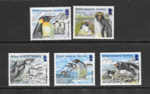PENGUINS - BRITISH ANTARCTIC TERRITORY #C23-7   MNH