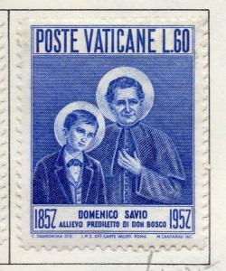 Vatican City 1957 Early Issue Fine Mint Hinged 60L. 158882
