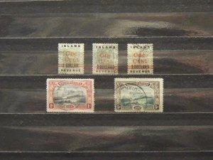 5627   Br Guiana   Used # 148, 149, 150, 152, 154       CV$ 12.30