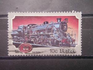 SOUTH AFRICA, 1983, used 10c, Steam Locomotives, Scott 614