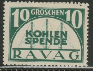 Ravag Coal Donation Cinderella Poster Stamp Reklamemarken A7P5F839