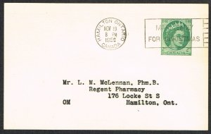 Canada Unitrade Postal Card UX87a