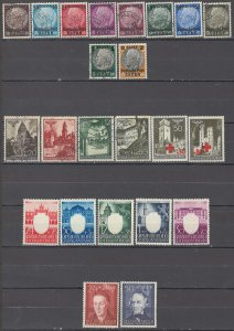 COLLECTION LOT OF # 1683 GERMANY OCCUPATION OF POLAND 23 STAMPS 1939+