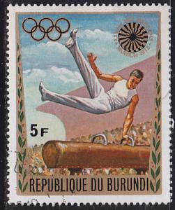 Burundi 399 XX Summer Olympic Games, Munich 1972