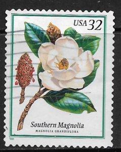 USA, 3193,  USED, MAGNOLIA
