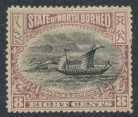 North Borneo  SG 102b MH  perf 14½ please see scan & details