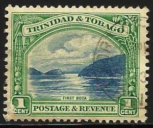 Trinidad and Tobago 1936 Scott# 34 Perf 12 1/2 Used