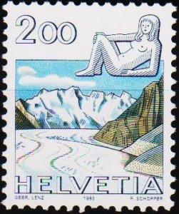Switzerland. 1982  2f S.G.1041 Unmounted Mint