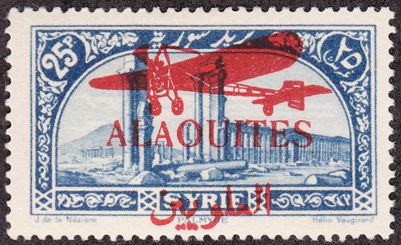 Alaouites #C19 Syria Stamp Overprinted MLH