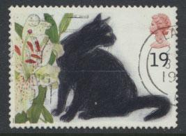 Great Britain SG 1848  Used  - Cats