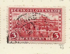 Czechoslovakia 1926-27 Issue Fine Used 3k. NW-148617