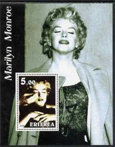 Eritrea 2002 Marilyn Monroe perf m/sheet #1 unmounted mint