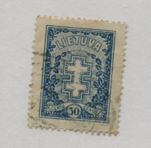 LITHUANIA  217   USED