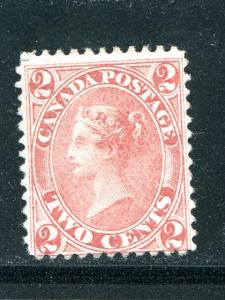 Canada #20  Mint   F-VF  NH   regum