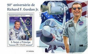 Z08 IMPERF ST190505b Sao Tome and Principe 2019 Richard F. Gordon MNH