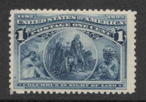 US#230 Deep Blue - Unused - O.G.