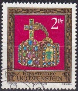 Liechtenstein #571  F-VF Used CV $2.75  (Z5872)