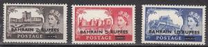 Bahrain Scott 96-8 Mint NH (Catalog Value $43.50)