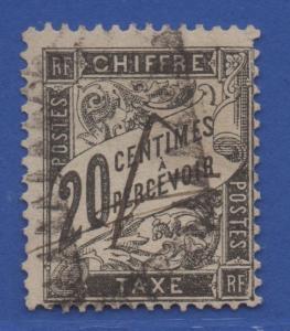 *France #J18 Used, Fine, Nice Stamp!!