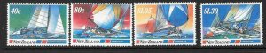 NEW ZEALAND SG1417/29 1987 YACHTING EVENTS MNH