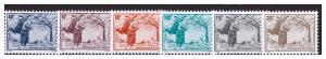 CONGO BRAZZAVILLE 1996 -1998 Definitives  6v  MNH