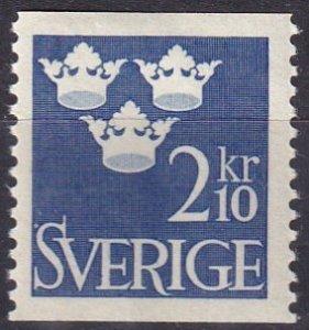 Sweden #473 F-VF Unused  CV $7.50 (V4872)