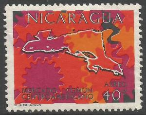 NICARAGUA C550 MOG MAP Z3083