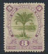 North Borneo SG 70d MH SC#61   perf 13½ x 14  see details & scans