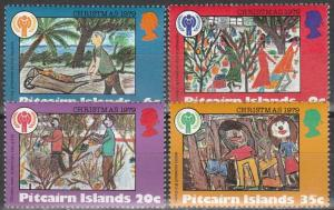 Pitcairn Is #188-91  MNH    (S9538)