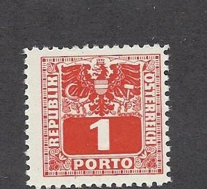Austria, J175, Postage Due Single,**Hinged**