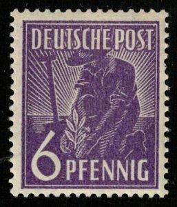 Deutsche Post, 6Pfg.Germany (T-9845)