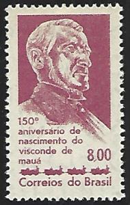 Brazil #972 Mint Hinged Single Stamp
