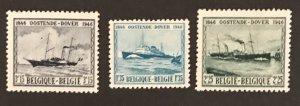 Belgium 1946 #368-70,Unused/gum disturbance CV $1.20