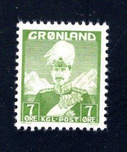 Greenland #3, F/VF, Unused, CV $3.75 ....2510157
