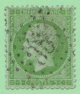 FRA SC #24 U 1871 Emp.Napoleon III w/some perf flts @ L CV $110.00