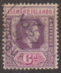Leeward Islands Scott #110b Stamp - Used Single