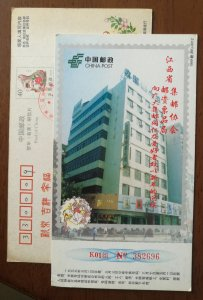 Bicycle,bike,Tricycle,China 1999 Jiangxi Philatelic Association advert PSC