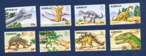 KIRIBATI - Scott 894-901  - FVF MNH - Lizard, Dinosaur - 2006