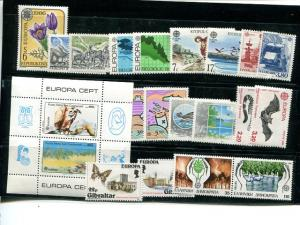 Europa Union   1986  almost complete Mint VF  -  Lakeshore Philatelics