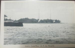 L) 1923 COSTA RICA, POST CARD CANALIAS, BEST COFFEE IN THE WORLD, PERFECT