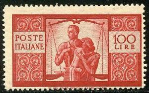 ITALY #477 Mint NH - 1946 100 l Family Issue