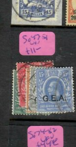 TANGANYIKA   (P3006B)  KGV  GEA OVPT  3C-15C  SG 47-51   VFU