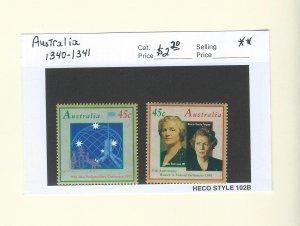 Australia 1340-1341  MNH