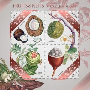 SOLOMON ISLANDS 2013 SHEET FRUITS slm13506a