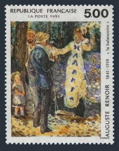 France 2242,MNH.Michel 2818. Painting 1991.The Swing,by Auguste Renoir.